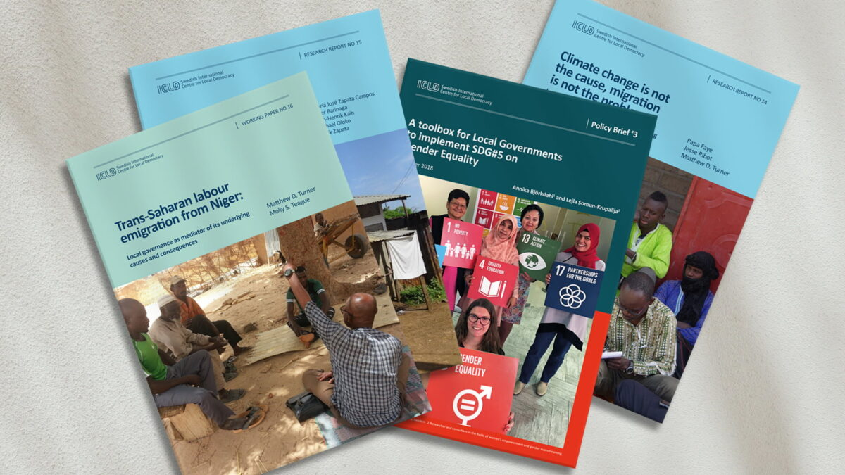 Publications from ICLD