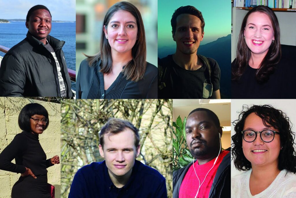 Master students awarded fieldwork grants for 2019