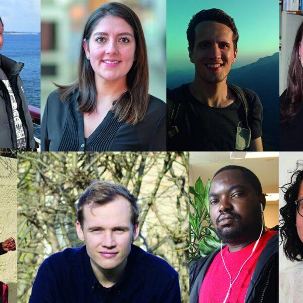 Eight international  Master's students awarded ICLD fieldwork grants