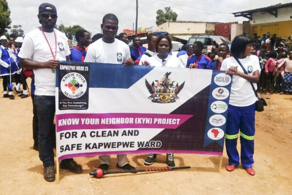 'Know Your Neighbour Project' can bring change in Lusaka